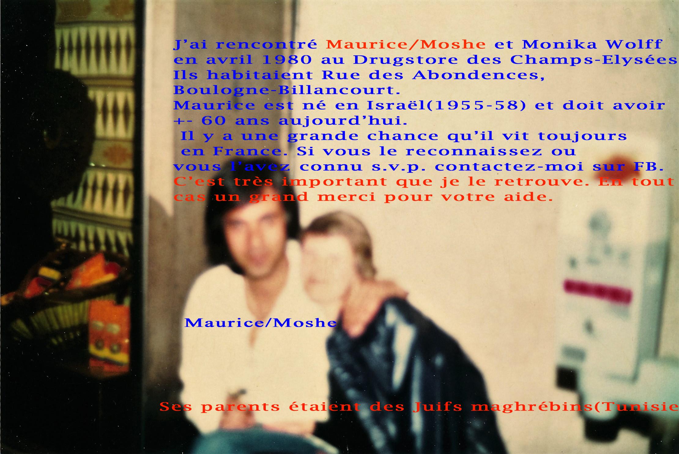 Maurice/Moshe