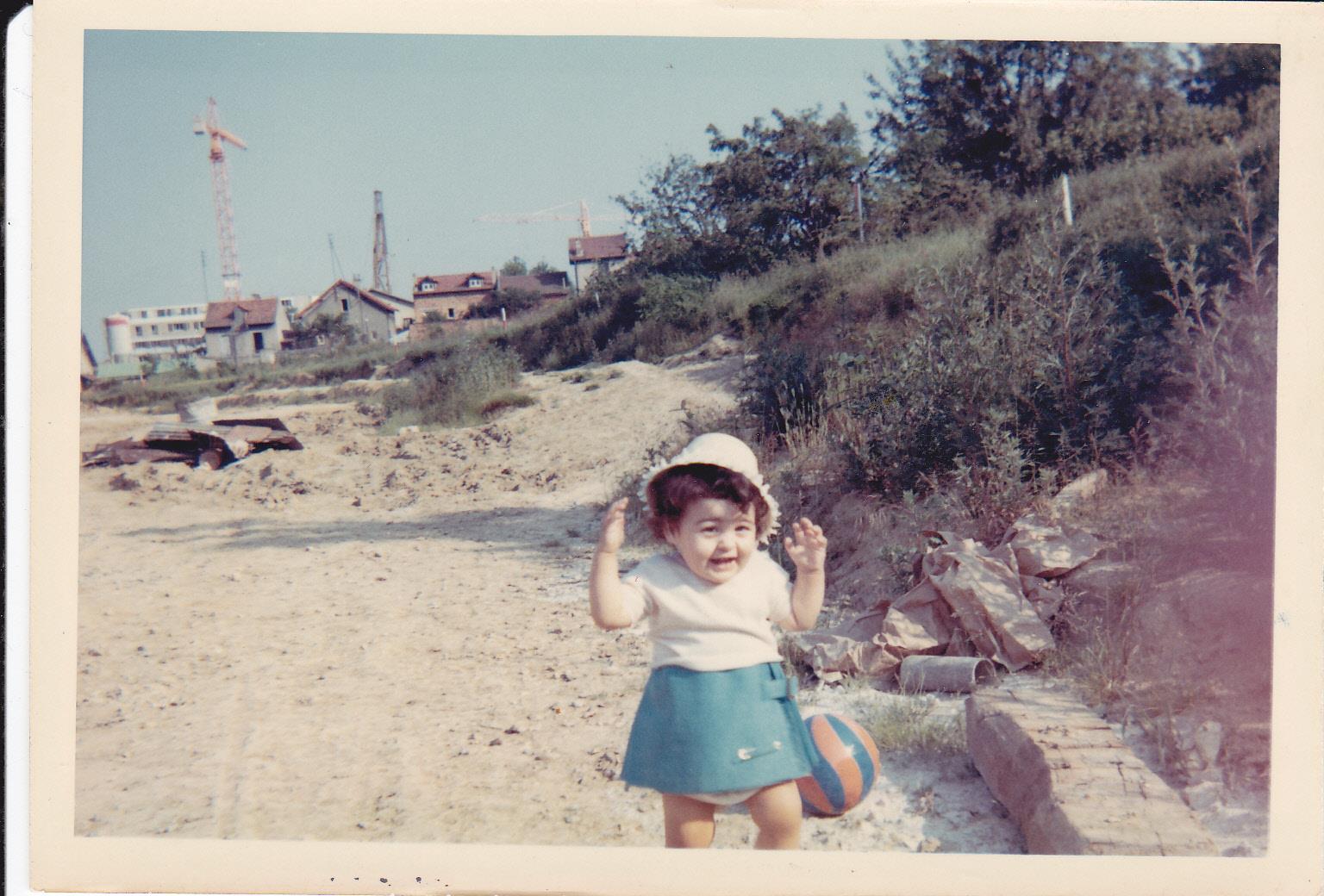 moi à la plage